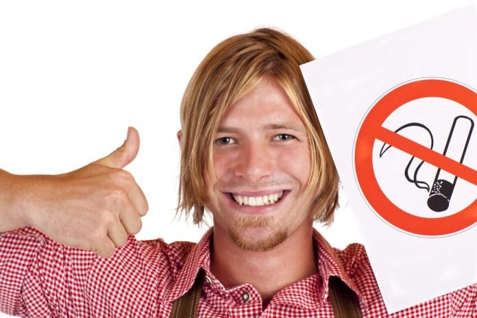 happy non-smoker