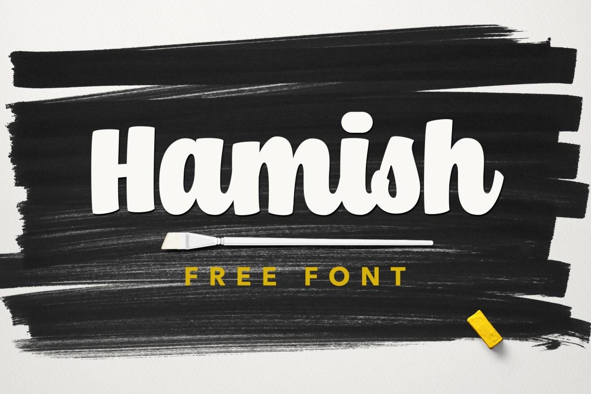Hamish Script (100% Free Font)