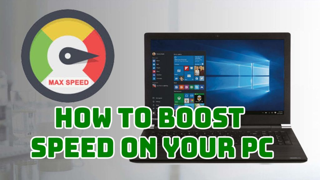 How to Boost Speed on your PC using some small tips