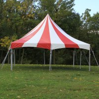 20' x 20' One Piece Master Series High Peak Frame Tent