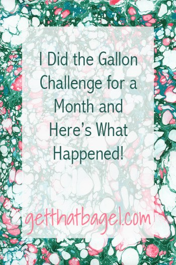 I Did the Gallon Challenge for a Month and Here's What Happened!