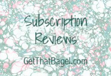 subreviews - Monthly Series on Get That Bagel