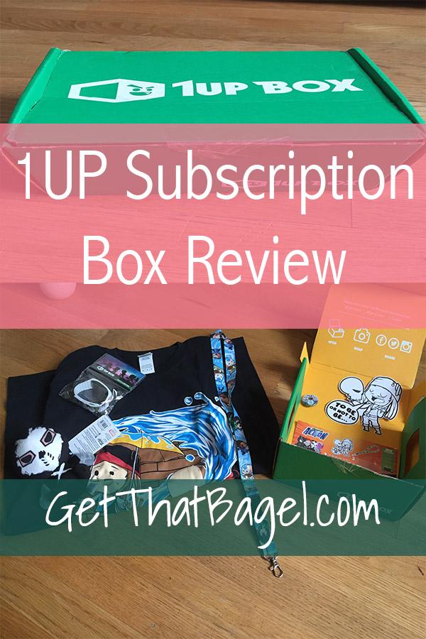 1upbox - 1UP Fan Gear Box: My May Subscription Box Review