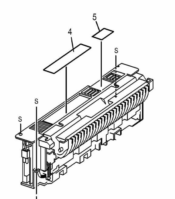 Tektronix Xerox 604K26520 600K85412 Phaser 790 FUSER ASSY