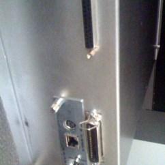 Wire Kitchen Cart Naples Cabinets Tally Genicom T6218 628 Matrix Line Cabinet Network Printer