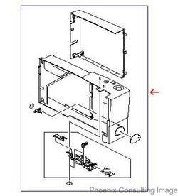 HP LaserJet 2200 RG5-5545 Dimm Cover Control Panel