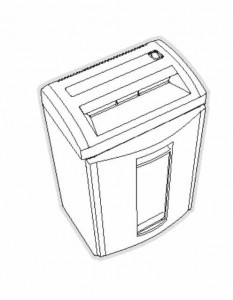 HSM Classic 104 108 Paper Shredder Oem 37 10 Tooth Primary