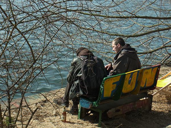 A fun bench