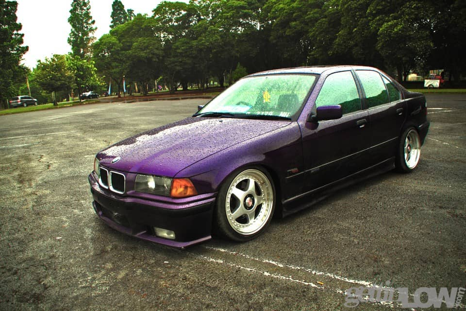 Nito's E36 BMW purple