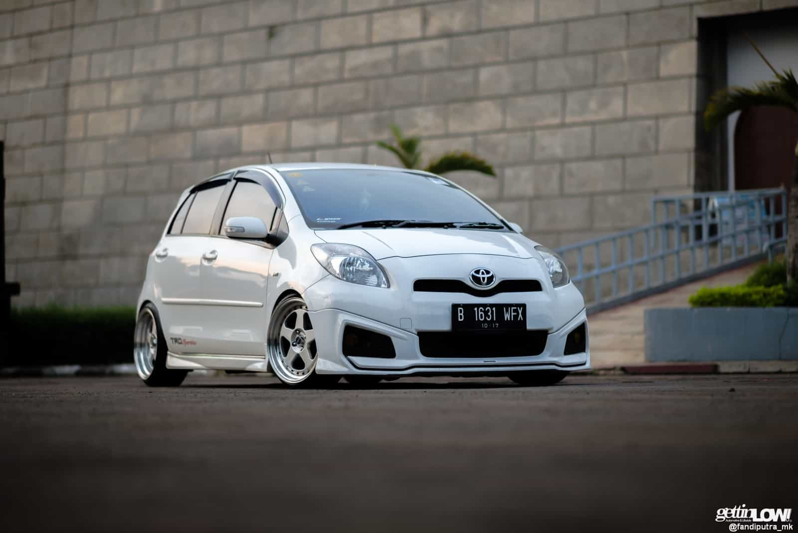 toyota yaris trd modif tune up grand new avanza gettinlow white tmii 021
