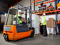 Industrial Counterbalance forklift