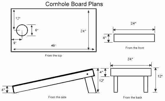 Washer Boards Plans