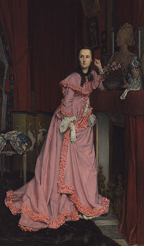 Marquise de Miramon, née, Thérèse Feuillant, a painting shown by Mary Morton