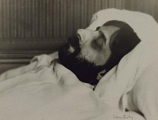 proust nel letto di morte