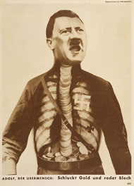 Adolf, Superman / Heartfield