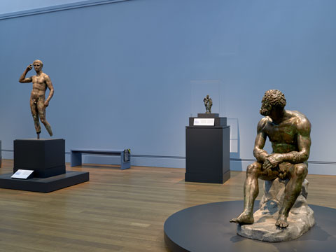 Power And Pathos Bronze Sculpture Of The Hellenistic
