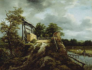 Bridge with a Sluice / Ruisdael