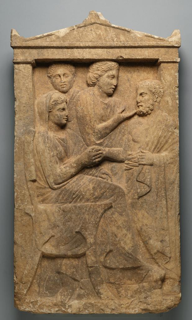Image result for funerary inscription Greek attica