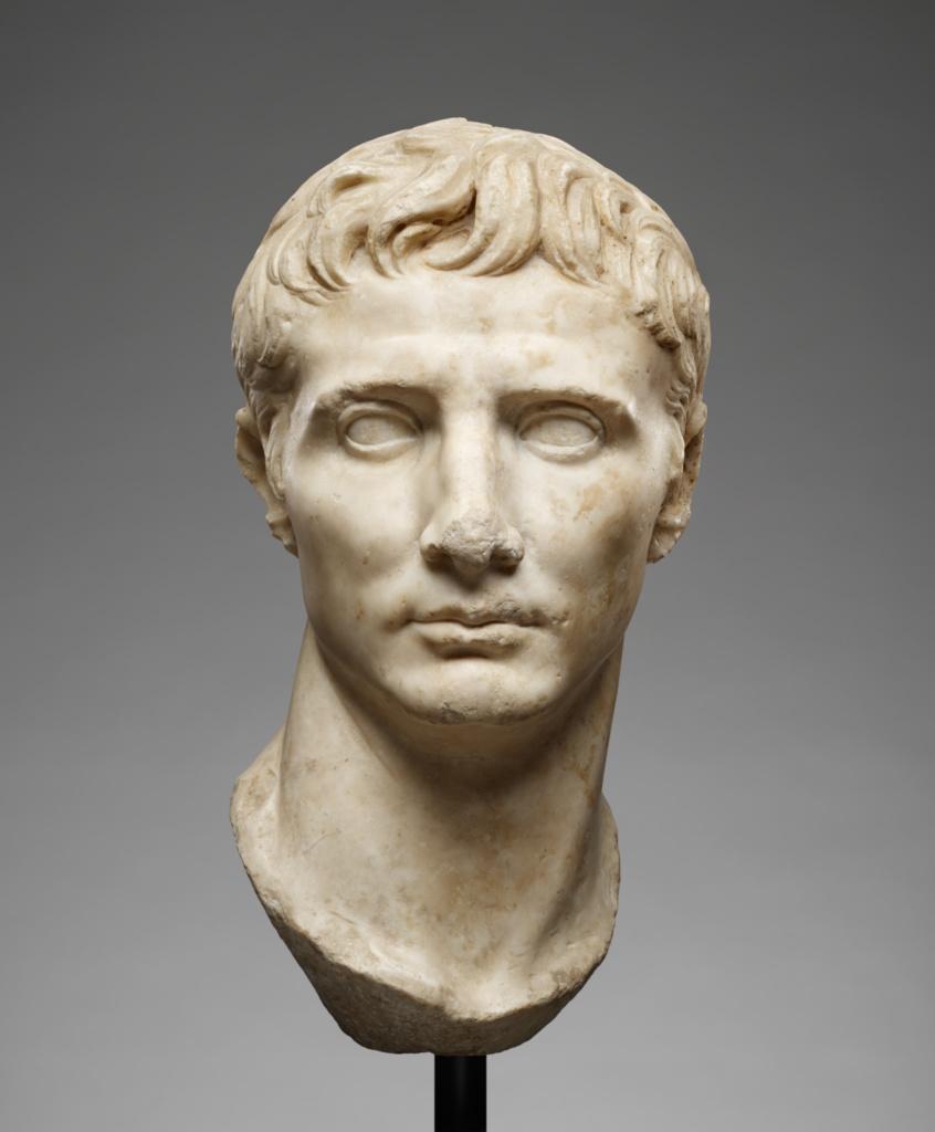 Portrait Head of Augustus Getty Museum