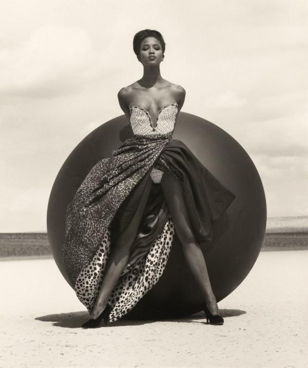 Naomi Campbell Versace 2 El Mirage Getty Museum