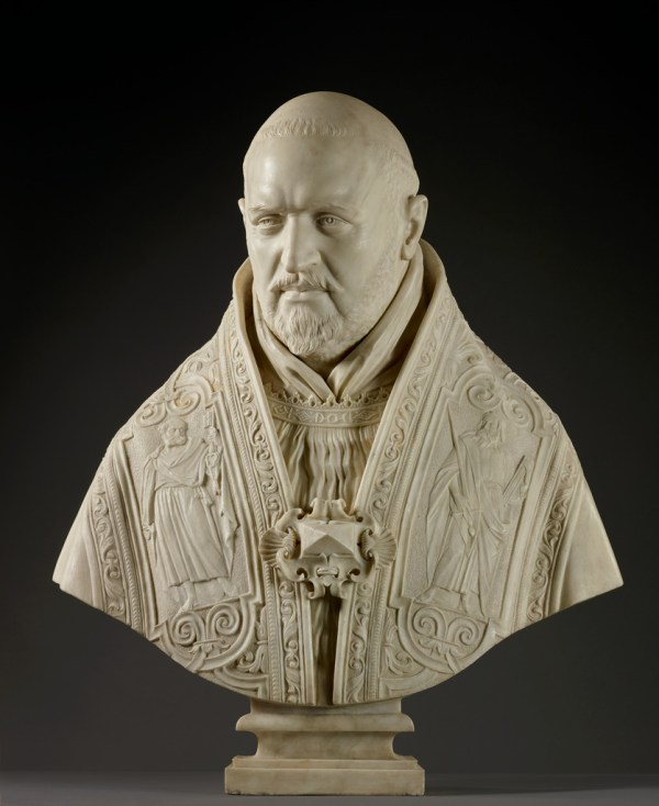 Bust Of Pope Paul Getty Museum