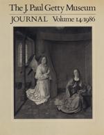 The J. Paul Getty Museum Journal: Volume 14/1986