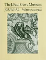 The J. Paul Getty Museum Journal: Volume 20/1992