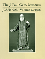 The J. Paul Getty Museum Journal: Volume 24/1996