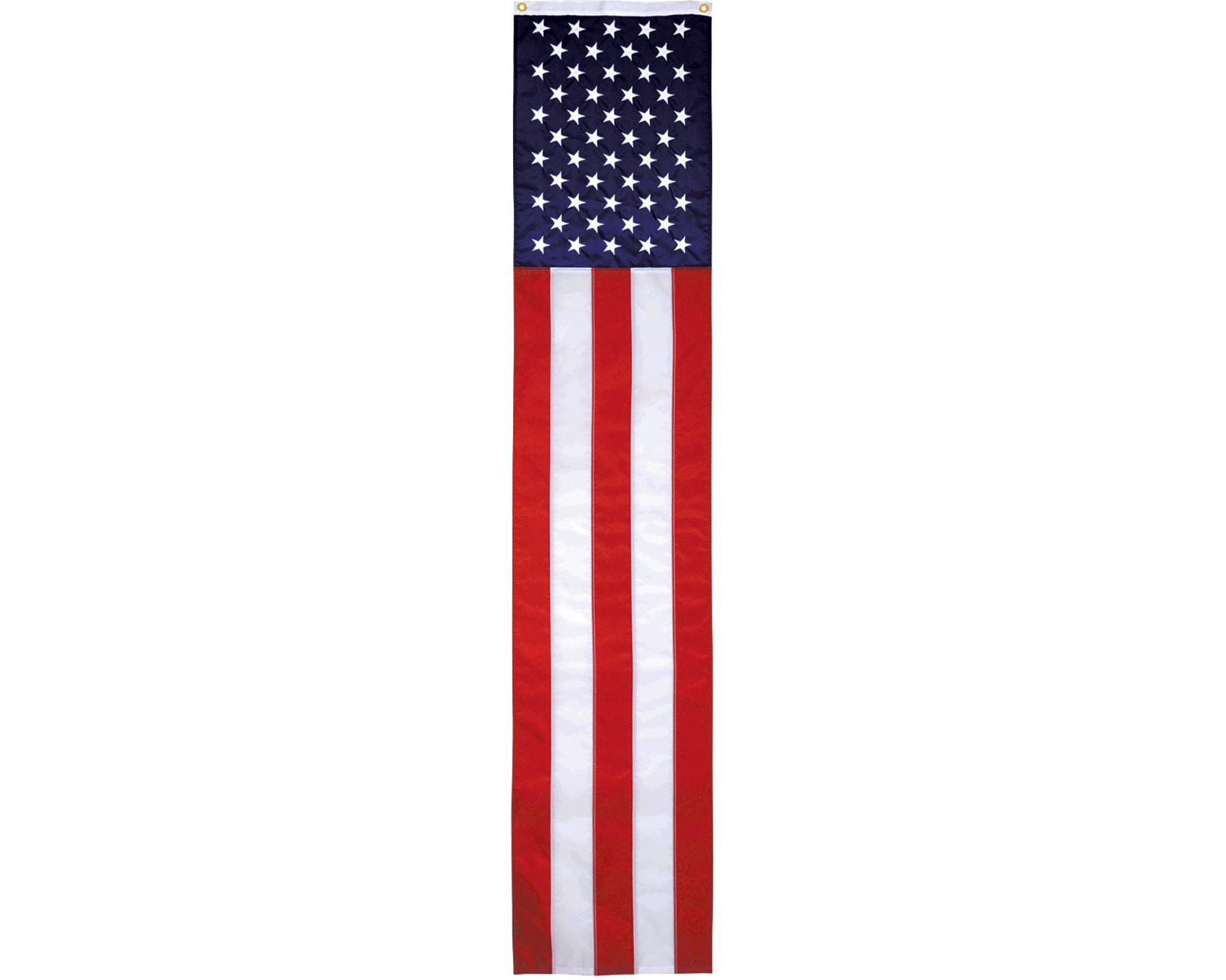 american flag pulldown nylon