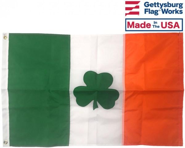 Irish Shamrock Flag - St. Patrick' Day Flags