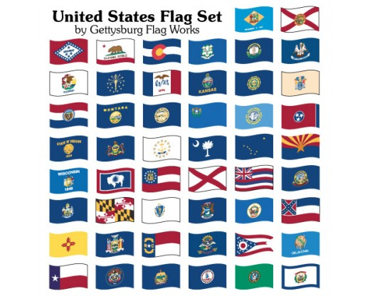 50 state set united