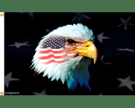 Patriotic War Eagle Flag  3x5  Holiday  Celebration