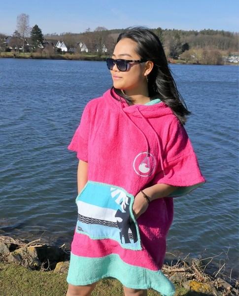 WAVE HAWAII Poncho 4022 pink 1 (1)-s