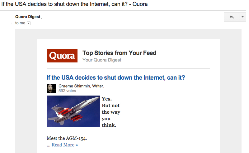 quora email best practices
