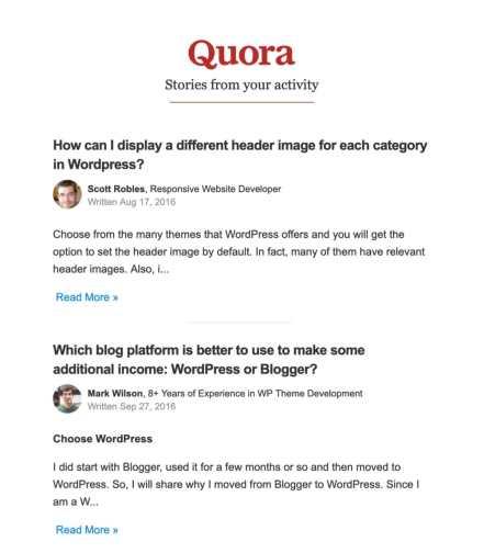 40 tips example quora