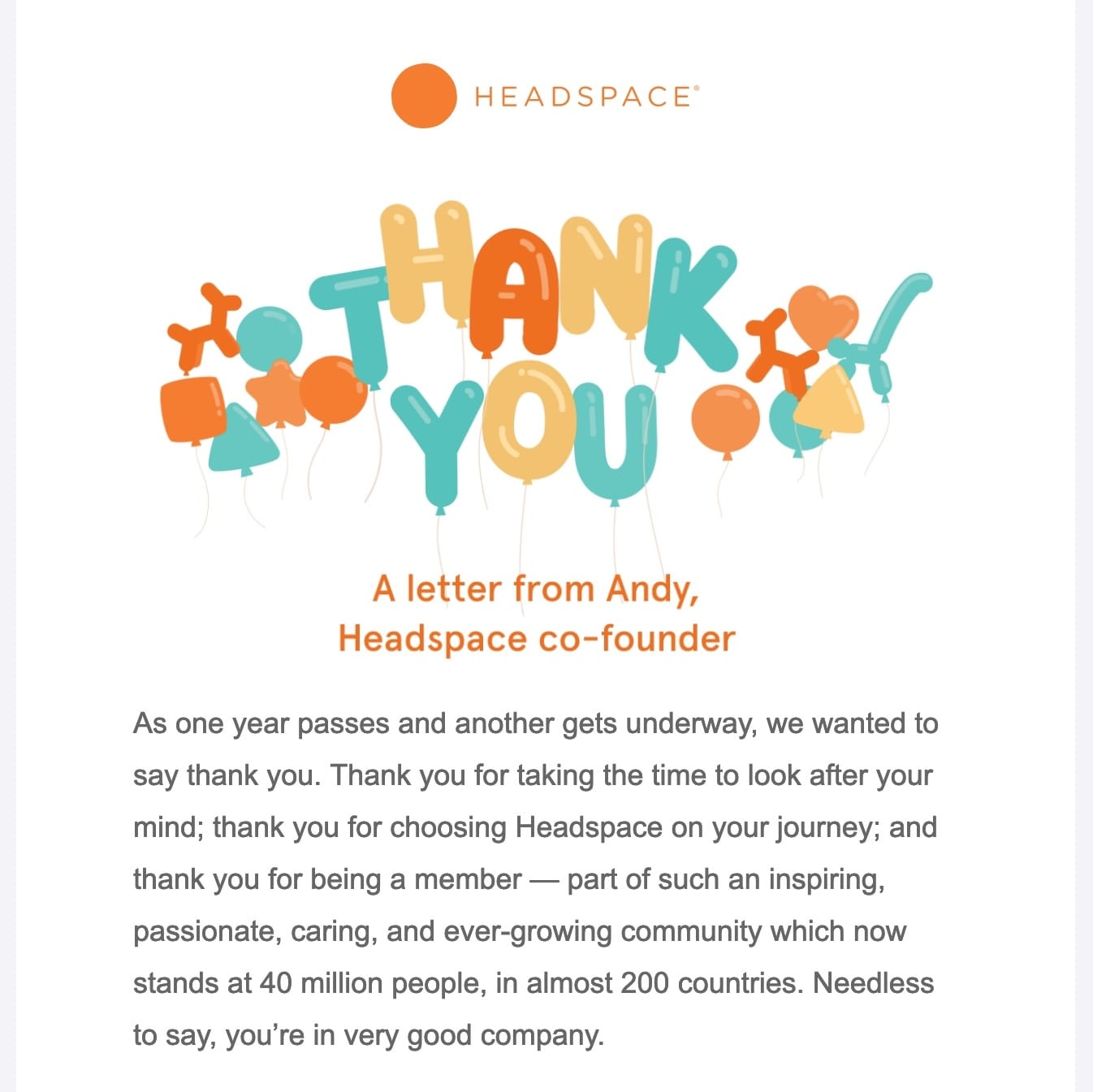 email-marketing-best-practices-headspace-thanks