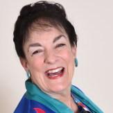 head shot of a happy Nancy Wyatt, My Get-Well Guru