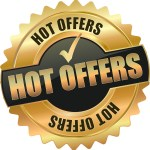 Gold medal Hot Offers symbol for Zoom Sessions