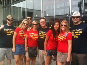 the BREL team at the Toronto Beer Festival