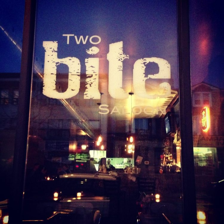 Two Bite Saloon in Christie Pitts