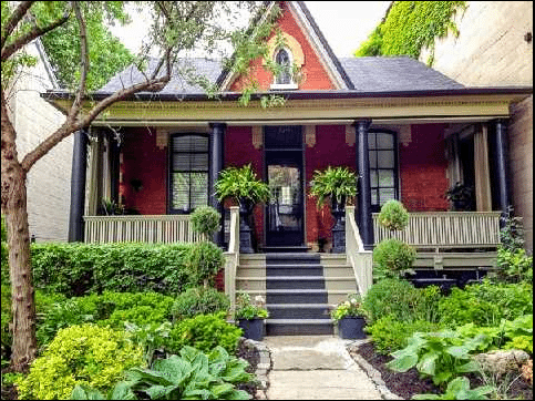 Cabbagetown Cottage Toronto Exterior