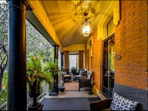 Cabbagetown Cottage Toronto Front Porch