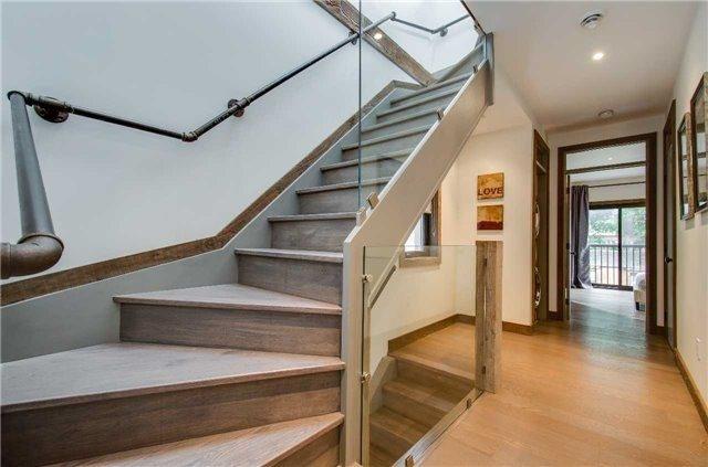 Amazing Staircase Toronto Beach House