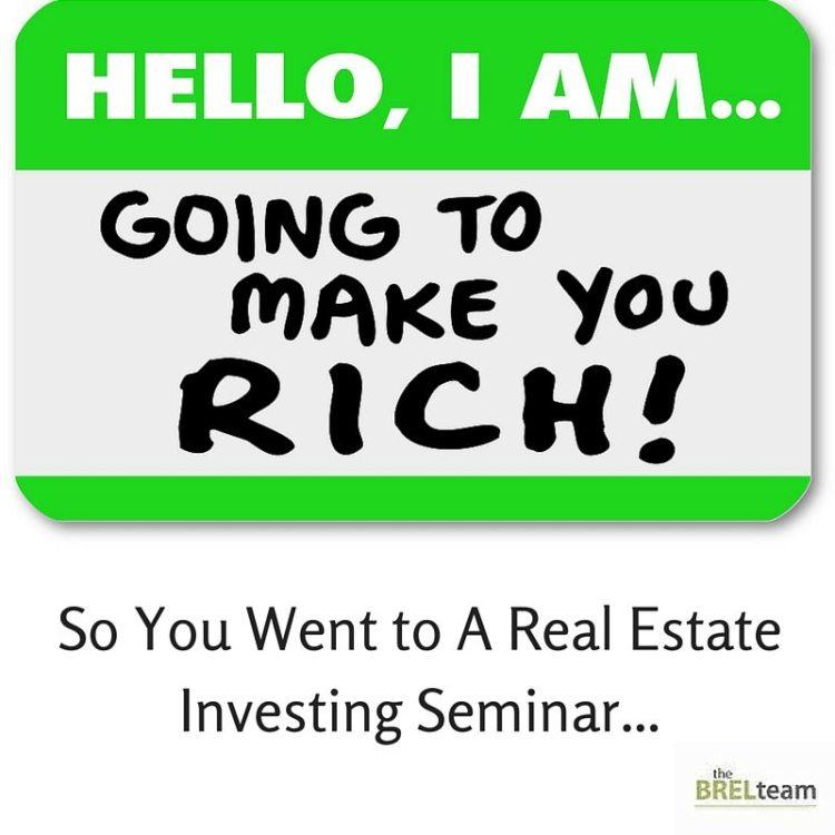 Get Rich Quick Seminar