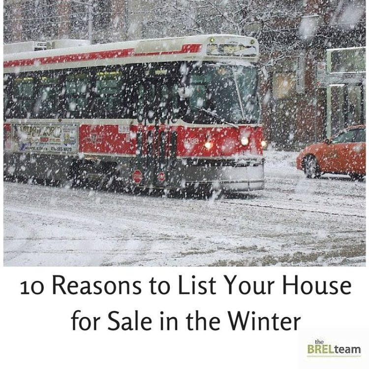 List Your House in the Winter
