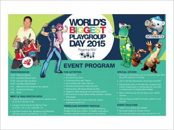 10+ Event Program Templates
