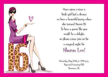 birthday party invitation 5