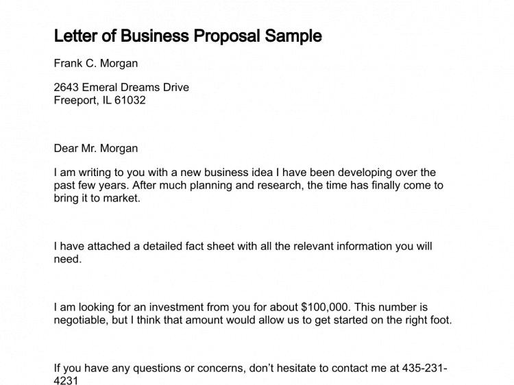 12 business proposal sample letters word excel pdf formats 100 12 business proposal sample letters word excel pdf formats spiritdancerdesigns Images