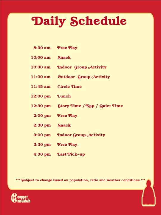 daily schedule iamge 10