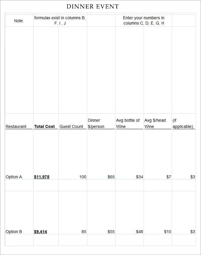 Event Program Template Publisher - Hlwhy